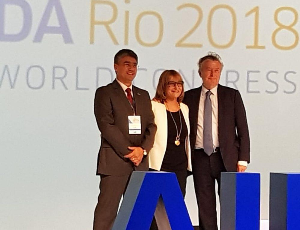 """עו""""ד פגי שרון נבחרה לנשיאה של ארגון AIDA העולמי"""