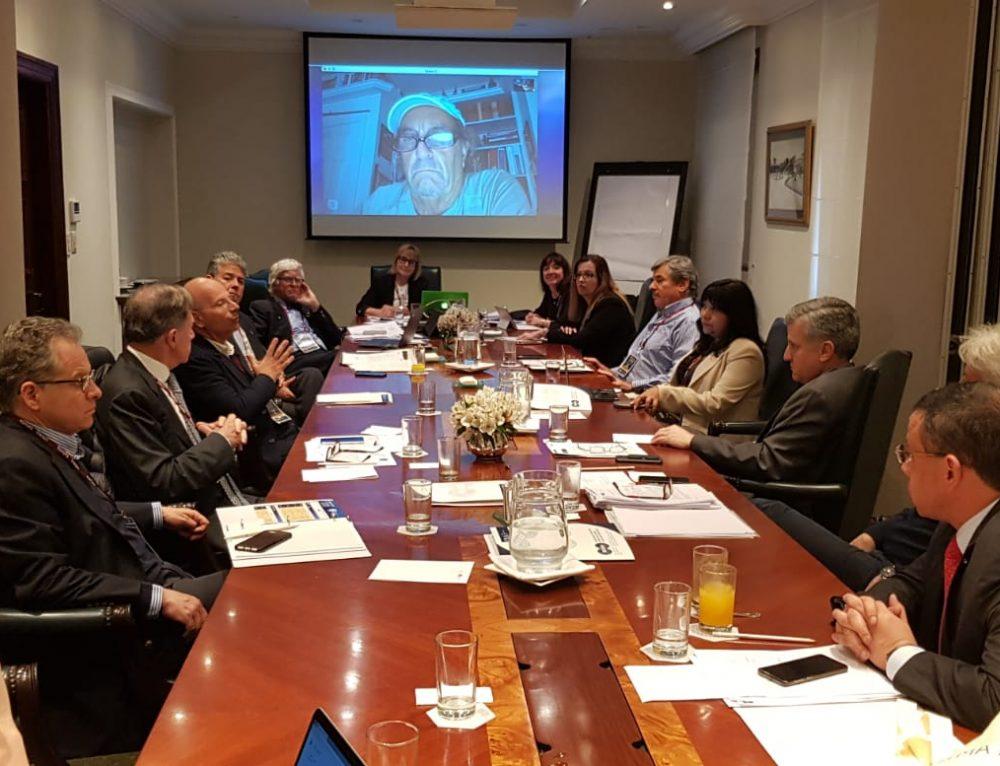 נשיא פרו השתתף בכנס של ארגון AIDA שנערך במדינה